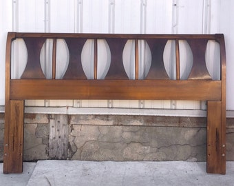 Mid-Century Modern Headboard- Queen/Full