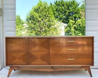 Mid-Century Modern Bedroom Dresser by Specialty Woodcraft Inc