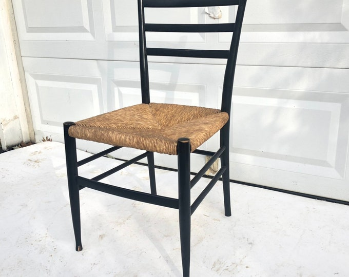 Otto Gerdau Rush Seat Dining Chair