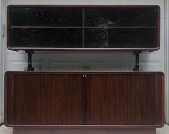 Danish Modern Rosewood Sideboard w/ Topper