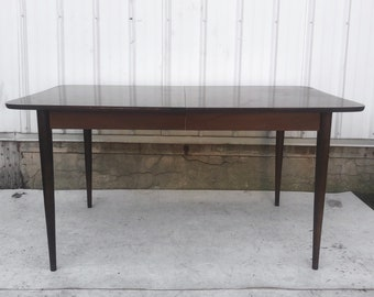 Mid-Century Modern Dining Table w/ Leaf