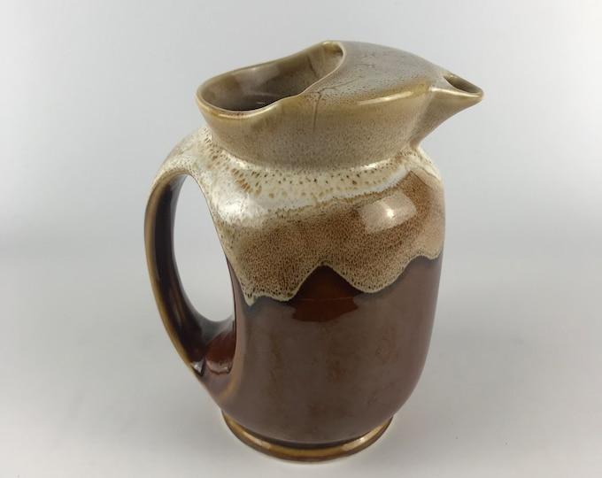 Vintage Earthware Pitcher or Vase