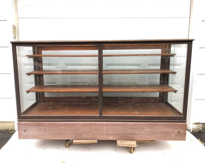 Antique Retail Display Case or  Checkout Counter