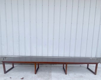 Long Mid-Century Modern Bench or Coffee Table