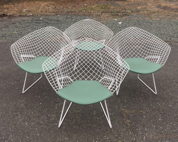Mid-Century Knoll Chairs by Harry Bertoia