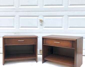 Mid-Century Modern Nightstands by Lane