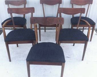 Mid-Century Dining Room Chairs attributed to Kipp Stewart