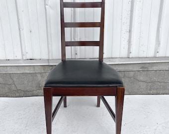 Mid-Century Walnut Desk Chair