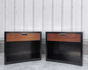 Vintage Modern Nightstands by Bloomingdales- a pair