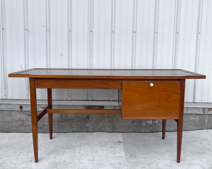 "Featured listing image: Mid-Century ""Declaration"" Writing Desk by Stewart MacDougall For Drexel"