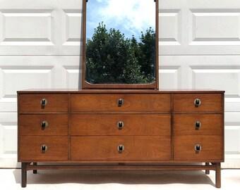 Mid-Century Bedroom Dresser By Bassett