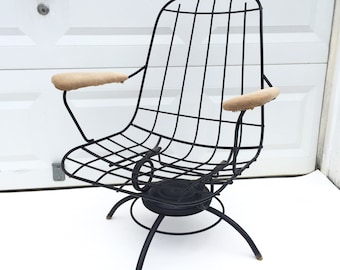 Mid-Century Swivel Lounge Chair by Homecrest