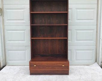 Mid-Century Modern Rosewood Bookcase