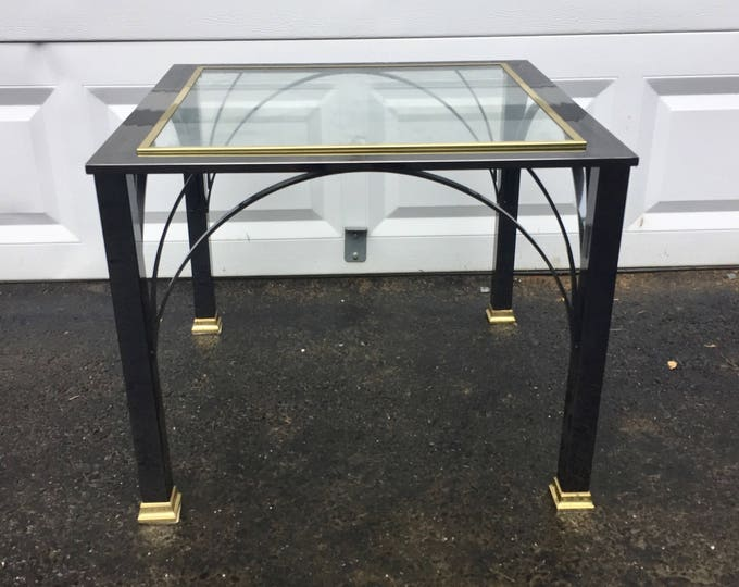 Vintage Modern Lamp Table by DIA