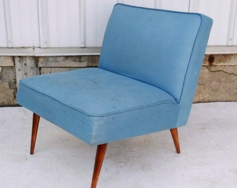 Mid-Century Modern Slipper Lounge Chair