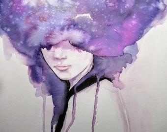 Stars in Her Eyes | ART PRINT - 8 x 10