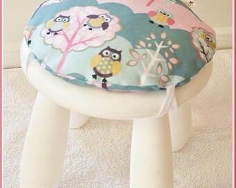 Articoli simili a toadstool sgabello cuscino set 4 bambini