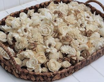 Assorted Mini Sola Wood Flower Assortment