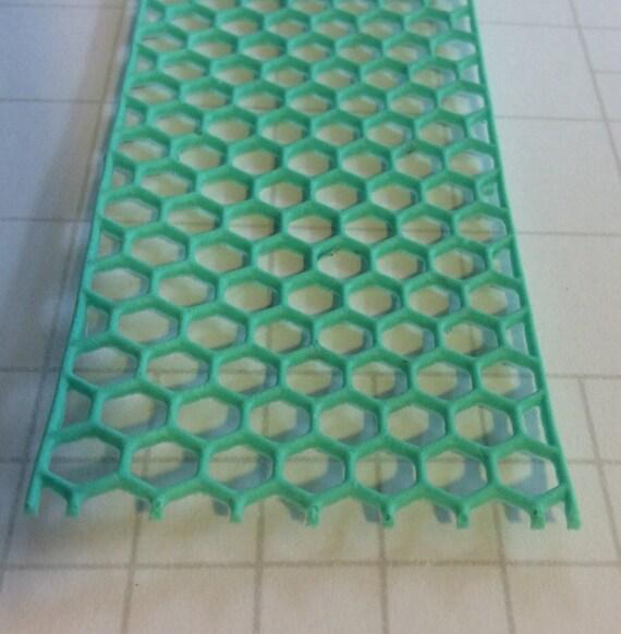 chicken wire resin border hexagon border shabby chic | Etsy