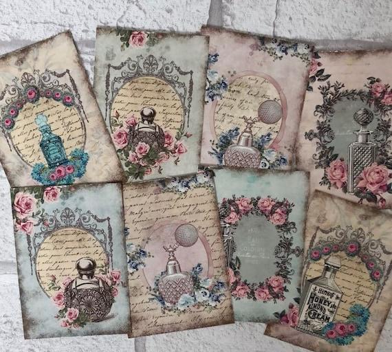 Crochet Conejo Peter Rabbit Hecho a Mano Cardmaking libro de chatarra Tejer Coser..