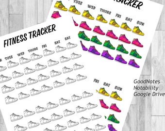 weight loss tracker weight loss goodnotes weight loss etsy