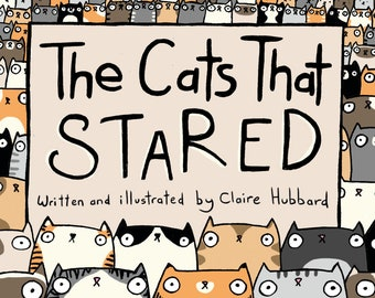 The Cats That Stared Comic Book by Claire Hubbard