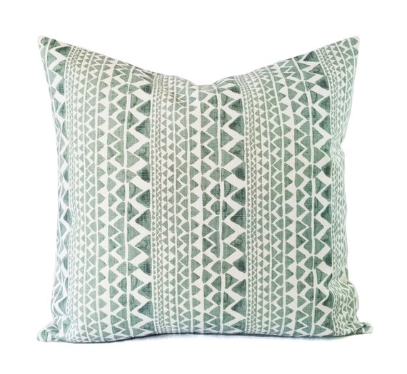 Marvelous Two Soft Green Decorative Pillow Covers Two White And Green Throw Pillow Covers Geometric Pillow Succulent Green Pillows Green Pillow Caraccident5 Cool Chair Designs And Ideas Caraccident5Info
