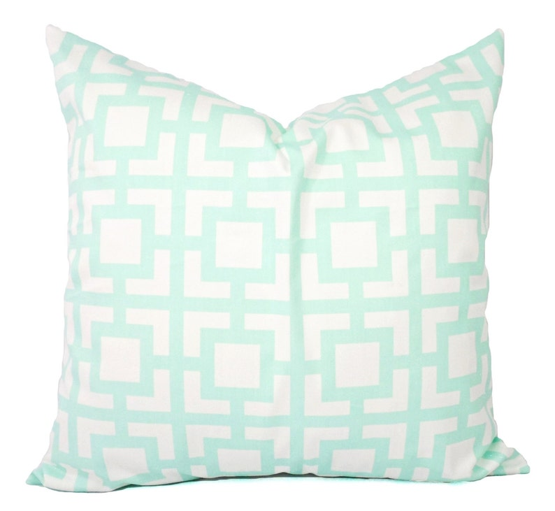 Remarkable Two Mint Pillow Covers Mint And White Throw Pillows Mint Couch Pillow Cushion Cover Mint Accent Pillow Throw Pillow Cjindustries Chair Design For Home Cjindustriesco