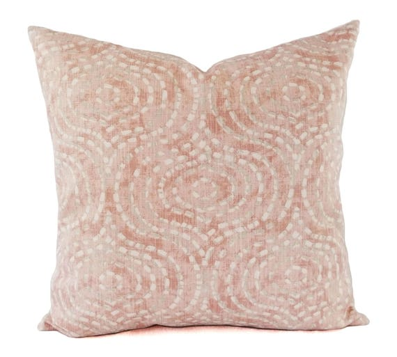 Two Blush Pink Pillow Covers Decorative Pillow Covers Etsy Enchanting Blush Decorative Pillows