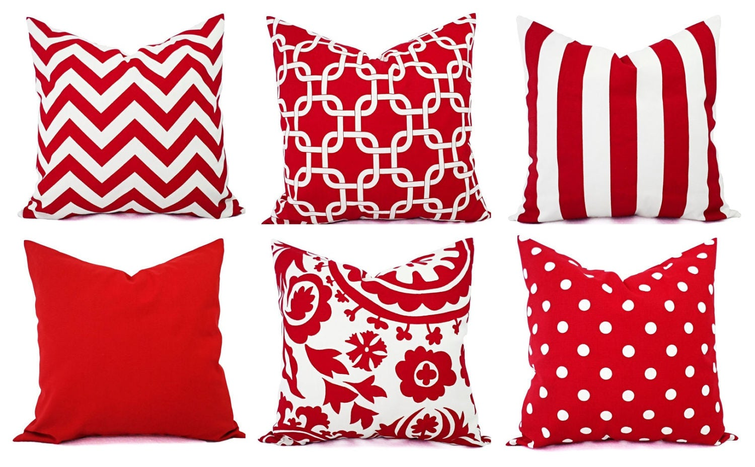 Red Pillow Covers Decorative Throw Pillow Cover Red Couch