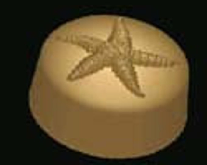 Star fish hand crafted goat milk and shea butter soap - guest soap or gift for the beach or starfish lover