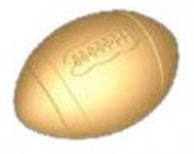 Goat milk and shea butter football shaped soap - No Fragrance Added -  gift, guest bathroom soap - great for fall football season