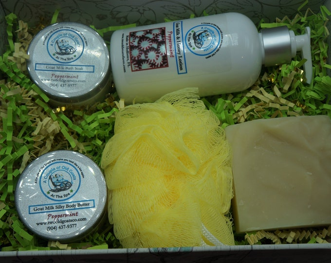 The Wake Up Basket - Peppermint will energize and revive - also good as a stress reliever - refreshes and relieves pain