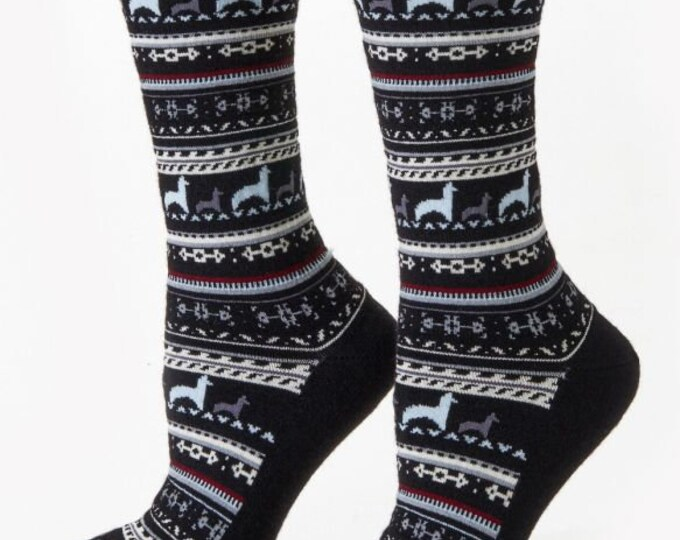 Alpaca socks infused with Aloe - Pretty alpaca socks made from soft soothing alpaca fiber - several colors to choose from