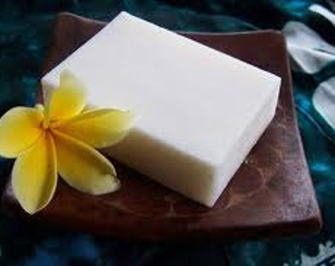Goat milk and shea butter bar soap- moisturize cleanse - great for the skin - NO Fragrance added