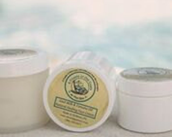 Goat Milk Healing Cream - Goat Milk, Tamanu Oil and essential oils team up to heal, relieve and soothe - 12 or 16 oz Moisturizes. Natural