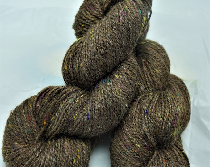 Alpaca Yarn blended with Mulberry Silk for a silky feel and colors that pop 200 ydss per skein-2 ply From the Huayaca alpacas at the farm