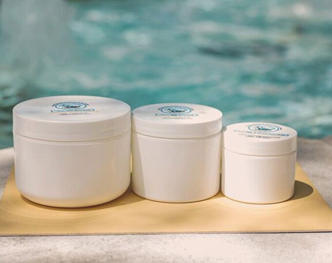 Goat Milk Morrocan Clay Mask - Tea Tree Lavender essential oils- tamanu oil for healing -  green tea extract, argan and rosehip oil