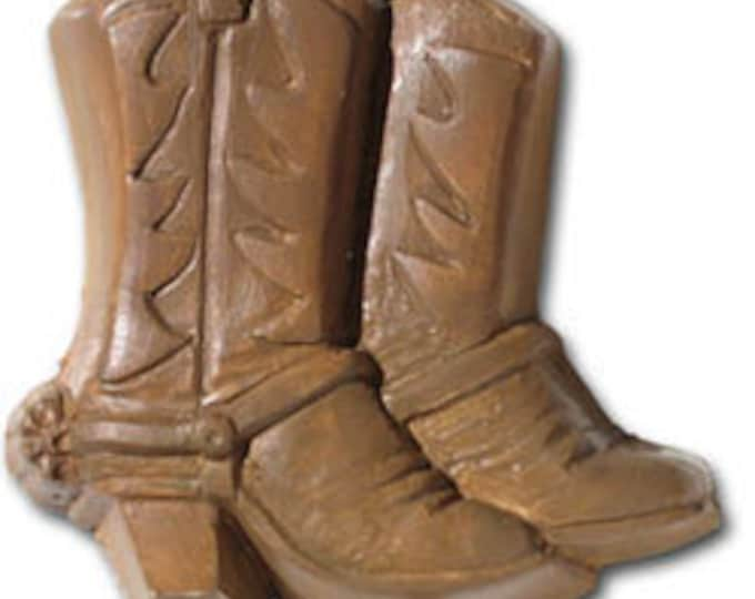 Goat Milk & Shea Butter Soap in Cowboy Boot shape.  Great gift for the Cowboy  in your life!