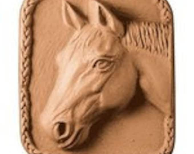 Horse lover goat milk soap - moisturize dry skin - guest bathroom soap - great gift for the horse lover in your life