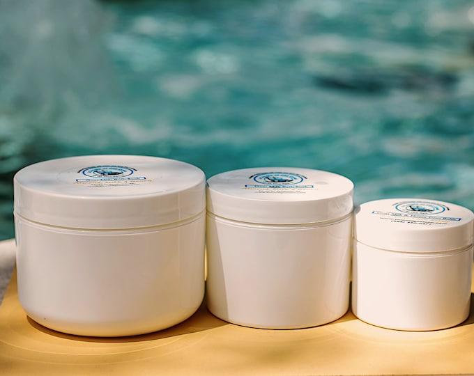 Goat Milk & Mango Powder Mask-1, 2 or 4 oz - moisturizes and heals - refresh tired skin - moisturize and reduce fine lines
