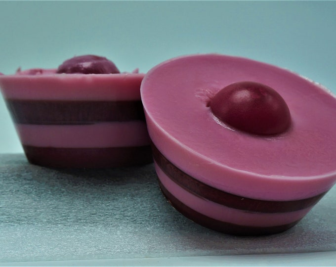 Raspberry Tart - Goat milk and shea butter bar soap- moisturize cleanse - great for the skin- smells like the real thing