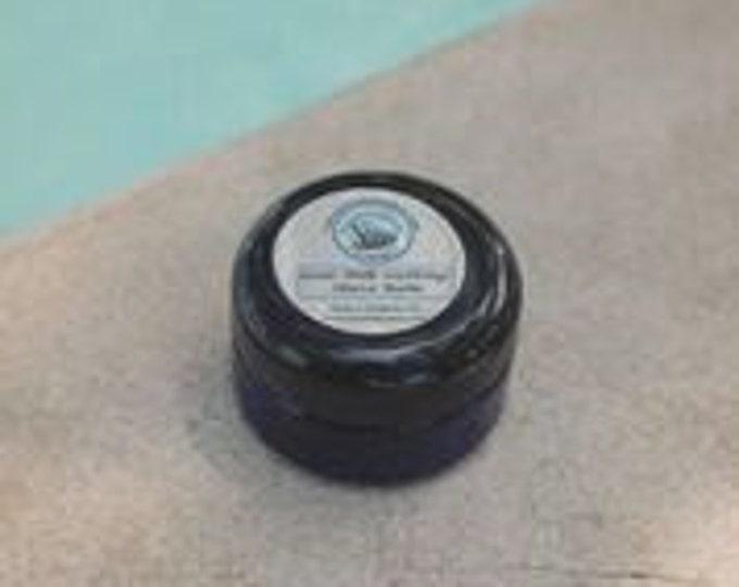 Soothing Goat Milk Shave Balm  - soothe razor burned skin. Moisturize soft skin. Men treat your skin