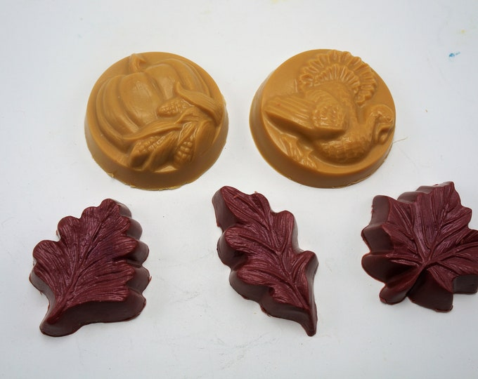 Goat Milk & Shea Butter Fall Guest Soap Collection.  Lots of bathrooms to decorate?  One for the kitchen too!