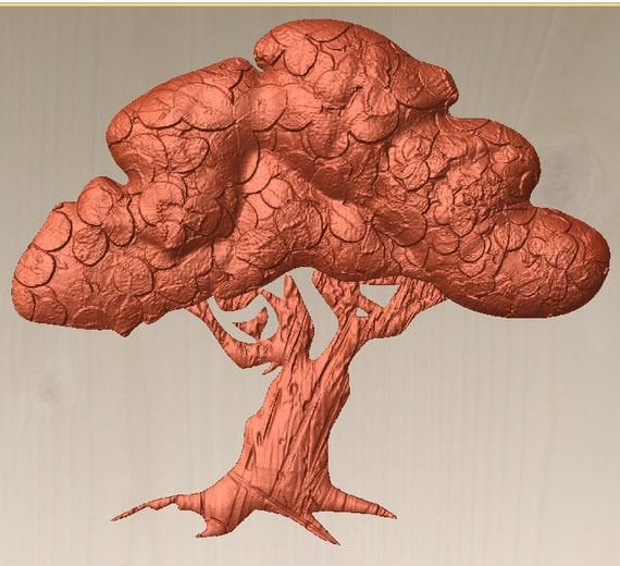 Olive branch Solid 3D model for cnc routers and mills instant download digital delivery in one zip file