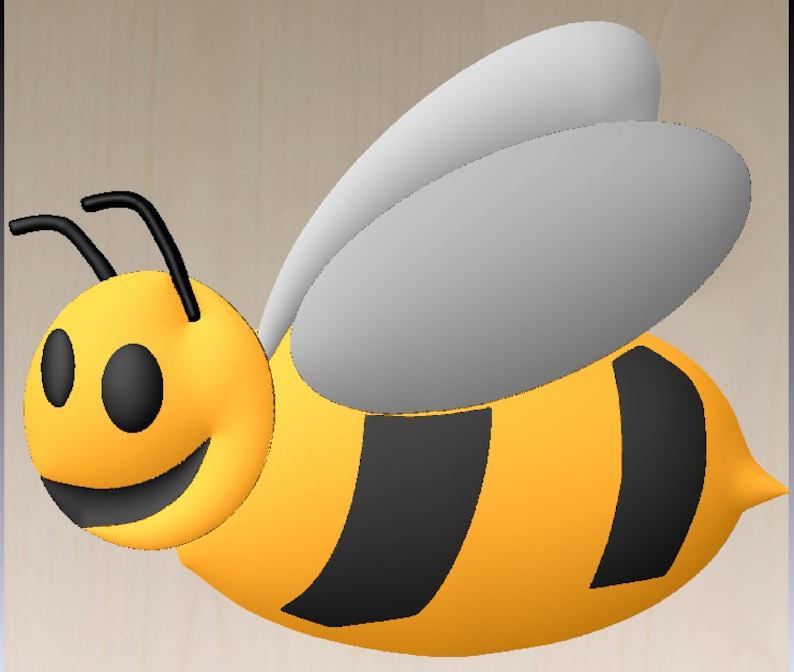 Honey Bee 3D art free download cut file instant digital download, STL to  make cutting file for CNC milling machine, or CNC router immediate
