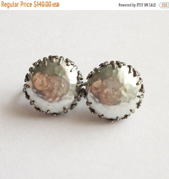 SALE Vintage Miriam Haskell Earrings Faux Pearl Ea