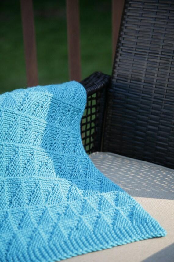 Blue Light Catcher Textured Reversible Decke Babydecke | Etsy