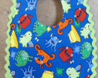 Lil Monsters Baby Bib