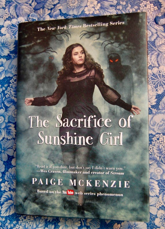 Signed Copy Of Any Sunshine Girl Book The Haunting Of Etsy
